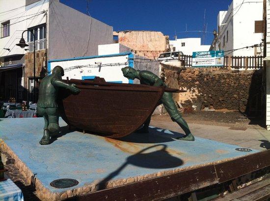 Lagunas y Playa de El Cotillo: Pescadores