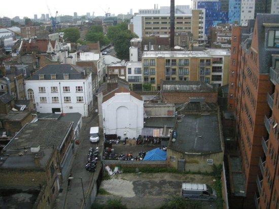 Hotel ibis budget London Whitechapel - Brick Lane: Vistas desde la habitación