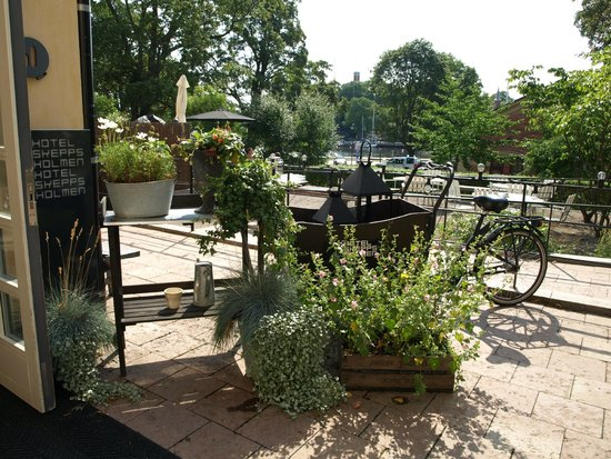 Hotel Skeppsholmen: Outdoor terrace