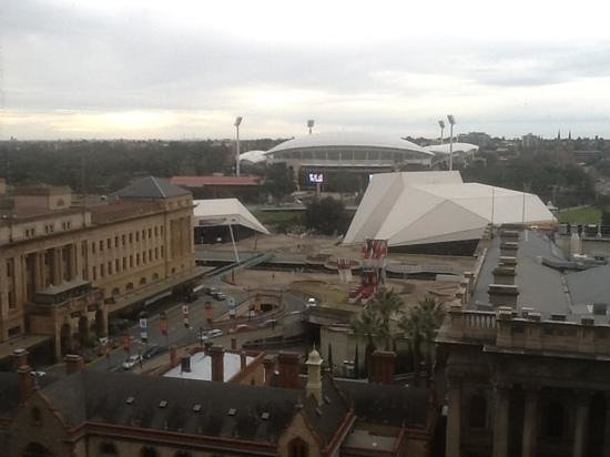 Stamford Plaza Adelaide : our view...magic!