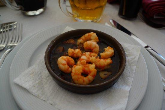 Restaurante Es Forat : Prawns