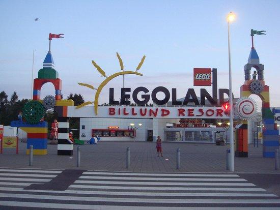 Legoland Billund: L'entrée publique du parc
