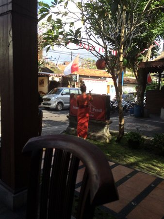 Pondok Pundi Village Inn & Spa: View from inside