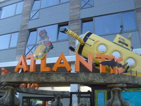 Legoland Billund: L'entrée de l'aquarium