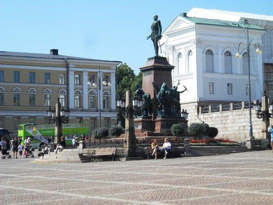 Plaza del Senado: al centro di piazza del Senato
