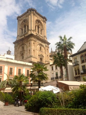 Catedral de Granada: The tower from the north west