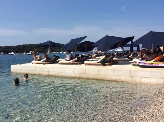 Hotel Monte Mulini: mulini beach
