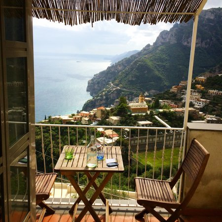 B&B Mamma Rosa Positano: Amazing view