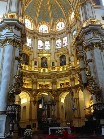 Catedral y Capilla Real: The high altar