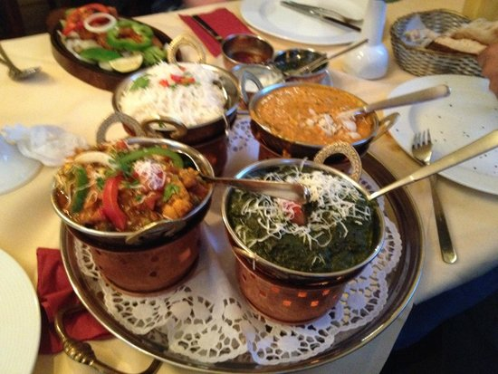 Haveli: Our main course..