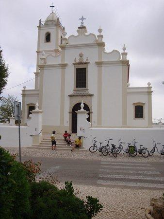 Vila Mimosa: Tijdens de fietstocht (met electrische fietsen).