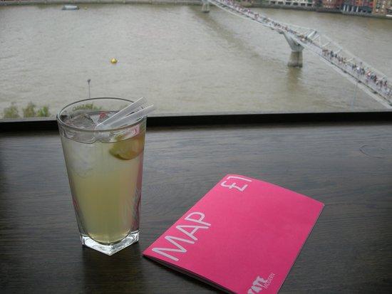 Tate Modern : Vista desde el bar-restaurante