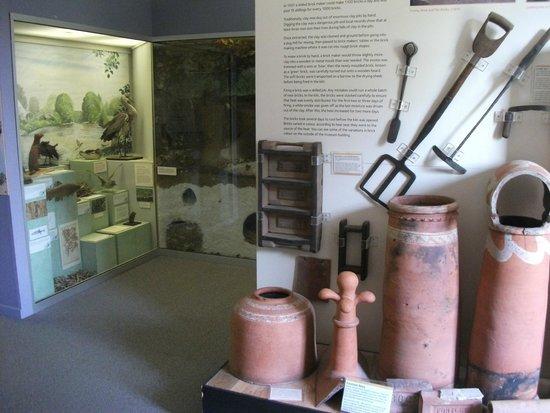 Westbury Manor Museum: Display areas