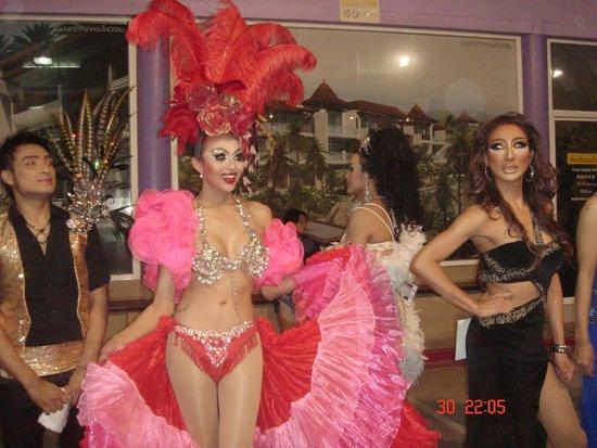 Phuket Simon Cabaret : красотка