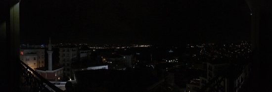 CVK Park Bosphorus Hotel Istanbul : Terrace view