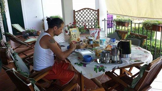 Il Pagio : Breakfast. Good coffee.
