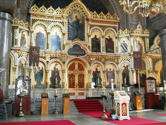 Cathédrale Ouspenski : Altare Maggiore
