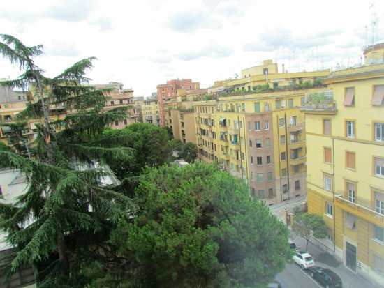 Mercure Roma Piazza Bologna: view from window