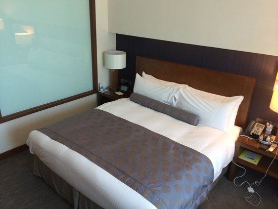 Grand Millennium Al Wahda: The bed, club floor level