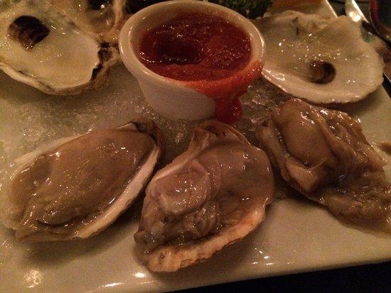Haub Steak House : Blue Point Oysters