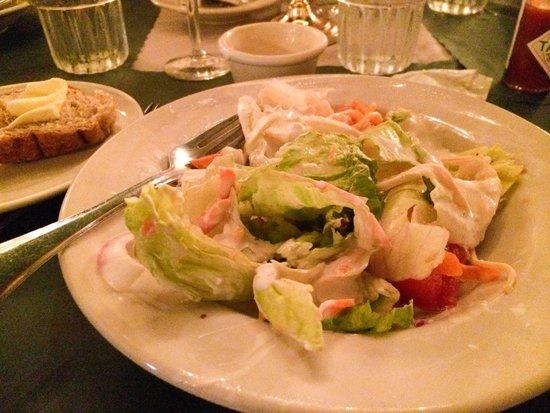 Haub Steak House : House salad