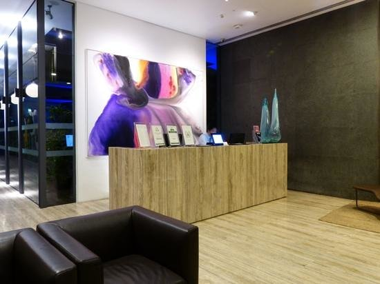 The Forest by Wangz: reception area