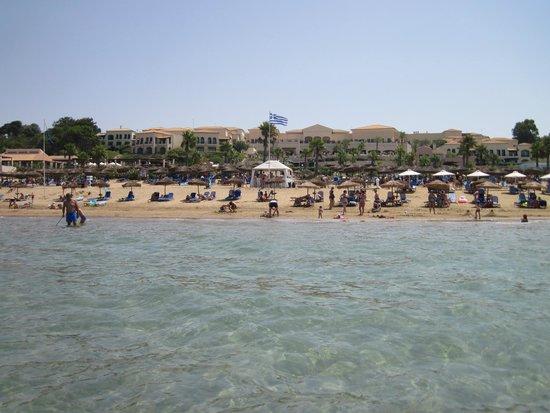 Grecotel Olympia Oasis: Пляж