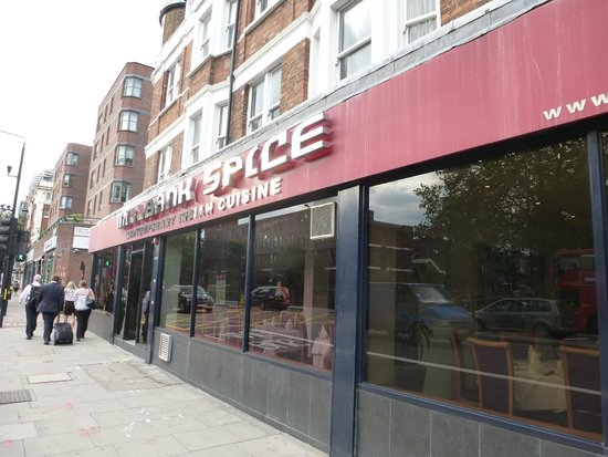 Millbank Spice: The restaurant
