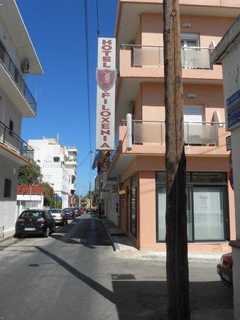 Chania, l'hotel Filoxenia