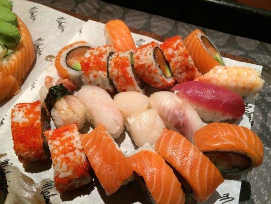 St. Sushi: ISO mix