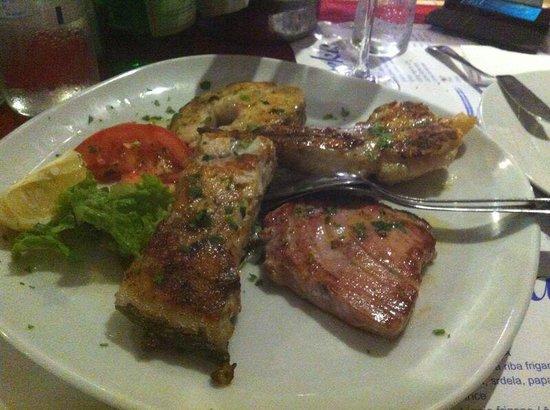 Konoba Feral: Mix di pesce alla griglia