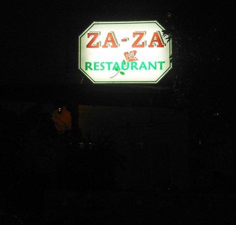 Zaza: Tucked away in a quiet location