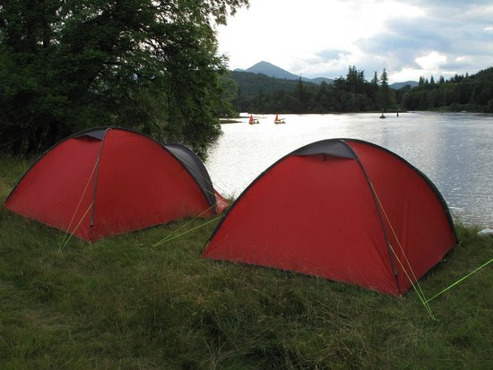 Boots N Paddles: Wild camping with the best views ever!