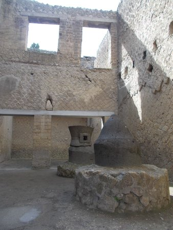 Ruins of Herculaneum: bakery