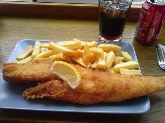 Baileys Fish and Chips: Grande y rico
