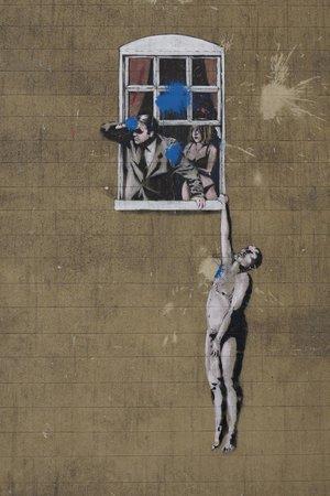 Bristol Street Art Tours: Banksy