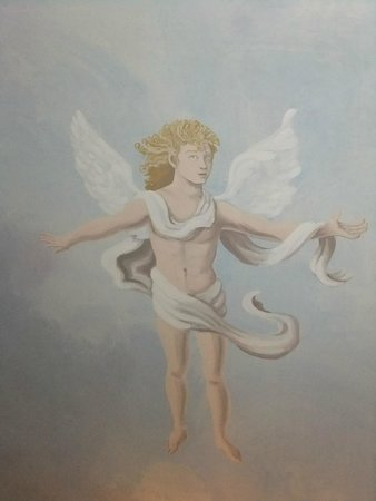 Hotel Palazzo Alexander: Angel on the ceiling