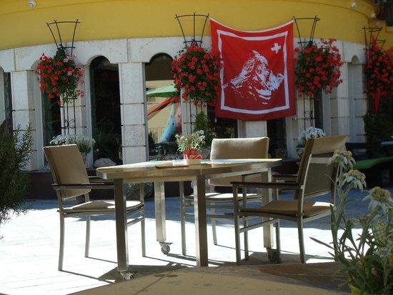 Resort Hotel Alex: Sun terrace
