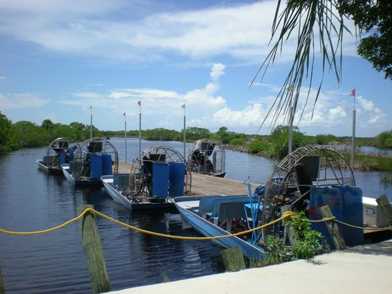 Capt Mitch's - Everglades Private Airboat Tours: Airboats