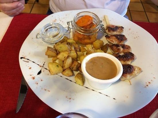 La TABLE DES Gourmandises : filets de cailles