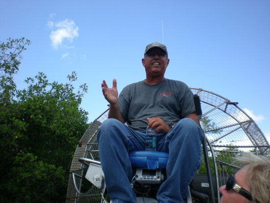Capt Mitch's - Everglades Private Airboat Tours: Guide