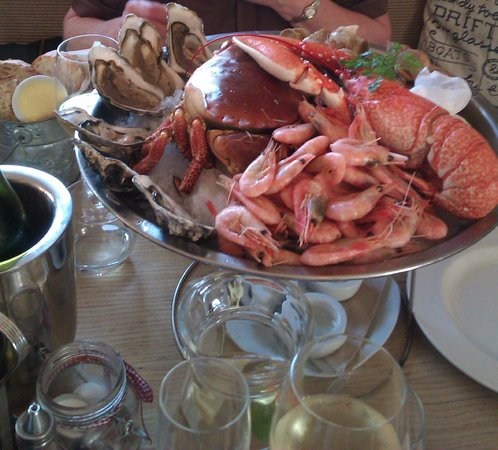 Crab Shack on the beach: Platter for two