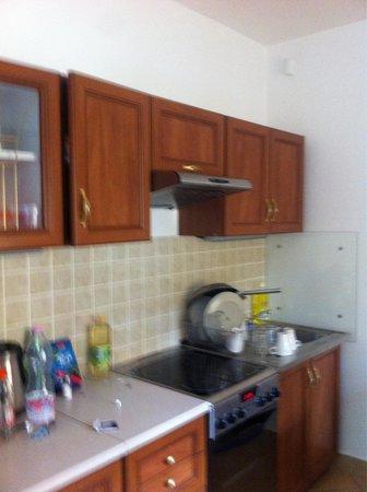 Rezort Apartmany Hrabovo : המטבח