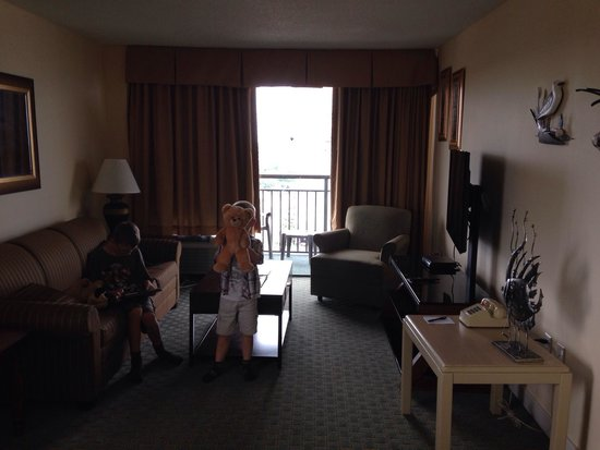 The Patricia Grand, Oceana Resorts: One bedroom two queen suite ocean view
