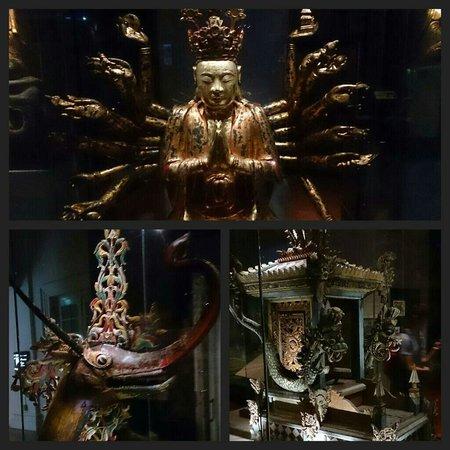 Museo de las Civilizaciones Asiáticas: Miscellaneous gorgeous displays.