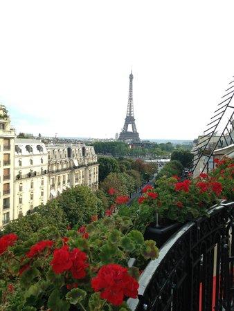 Hôtel Plaza Athénée : Vue depuis le Balcon-Terrasse