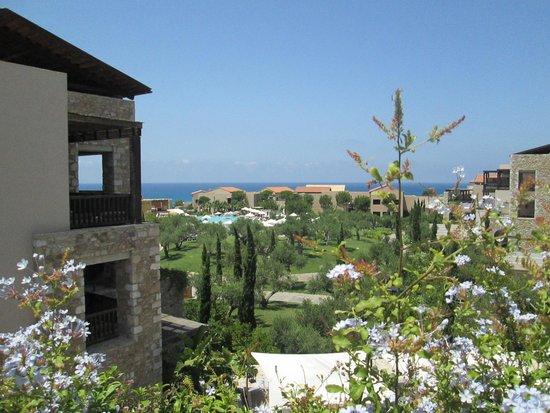 The Romanos Resort, Costa Navarino: Resort view