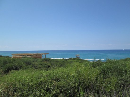 The Romanos Resort, Costa Navarino: Views from the beach