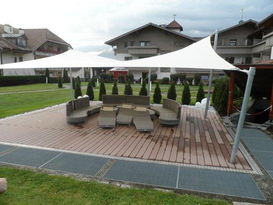 Hotel Tannenhof: gazzebo giardino