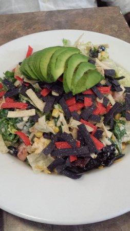 Rosine's Restaurant : Southwestern salad